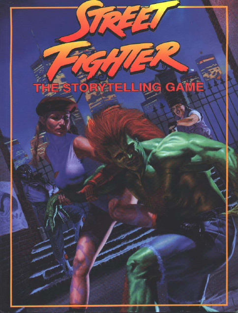 Street Fighter The Storytelling Game